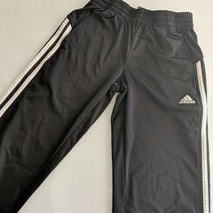 Youth Black Adidas Pants (Size Small- 8)